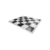 Dance Floor 8m x 8m (Black and white)
