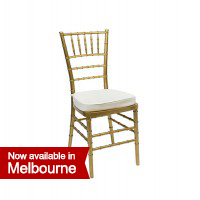 Gold Tiffany Chair   white cushionTiffany Chairs Hire   Silver  Gold and Black available. Tiffany Wedding Chair Hire Melbourne. Home Design Ideas