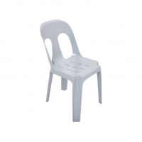 Grey Plastic Chair