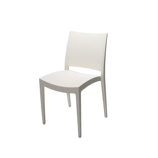 White Premium Plastic Chair Chair Hire Co