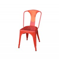Tolix Chair Red