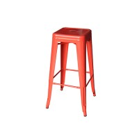 Tolix Stool Red