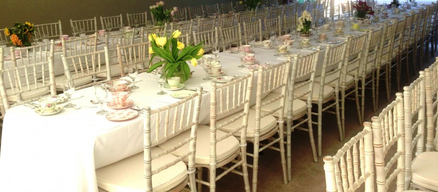 Tiffany Chairs Hire Silver Gold And Black Available