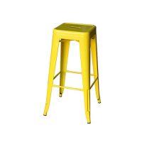 Tolix Stool Yellow