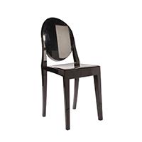 Black Victorian Chair