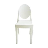 White Victorian Chair
