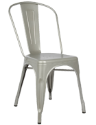 Silver Tolix Chair Chair Hire Co