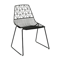 Black Wire Chair And Black Arrow Chair