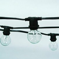 Festoon Lights – 12m Strand