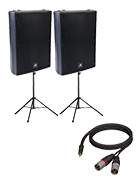 DIY Party Pack – Sound Pack With Speaker Stands