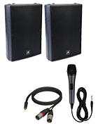 PA System With Corded Mic