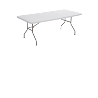 Plastic Trestle Table